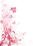 Rose floral illustration de vecteur