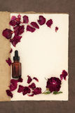 Rose Flower Aromatherapy Stock Foto's
