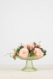 Rose flower arrangement with copy space Stock Photography