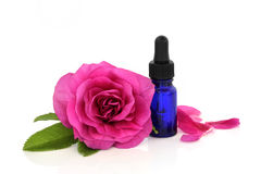 Rose Flower Essential Oil Royalty Free Stock Image