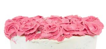 Rose Flower Frosting I royaltyfri foto
