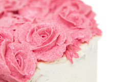 Rose Flower Frosting III Stockfoto