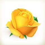 Rose flower illustration Royalty Free Stock Photo
