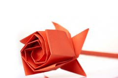 Complex origami rose 2 stock photo. Image of japanese ... - photo#40