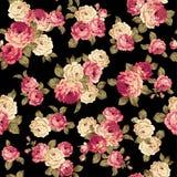 Rose flower pattern, Stock Image