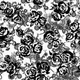 Rose flower pattern Royalty Free Stock Photo