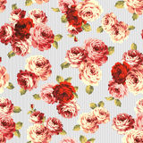Rose flower pattern, Stock Photo