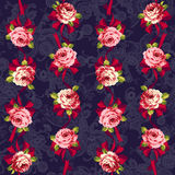 Rose flower pattern, Stock Photos