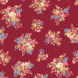Rose flower pattern, Royalty Free Stock Photography