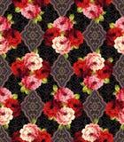 Rose flower pattern, Royalty Free Stock Photos