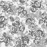Rose flower pattern, Stock Photos