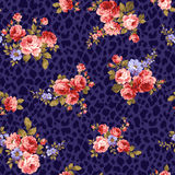 Rose flower pattern, Stock Images