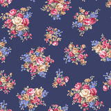 Rose flower pattern, Stock Image