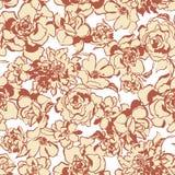 Rose flower pattern, Royalty Free Stock Photo