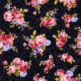 Rose flower pattern, Royalty Free Stock Photo