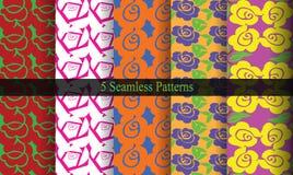Rose Flower Patterns Image stock