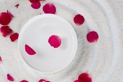 Rose Flower Petals Arkivbild