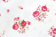 Rose Flower Texture of Thai silk pattern Royalty Free Stock Photos
