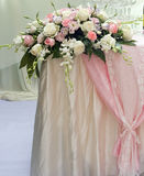 Rose flower on the wedding. Stock Photos