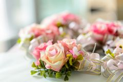 Rose flower for wedding decoration Stock Photo