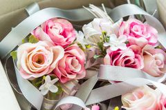 Rose flower for wedding decoration Stock Photos