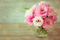 Rose flowers bouquet - vintage  style Stock Photos