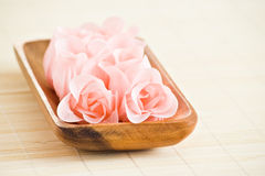 Rose flowers made from soap Stock Photo