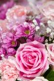 Rose flowers mixed bouquet Stock Photos