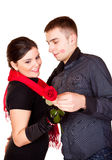 Rose For Valentines Day Stock Images