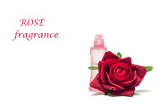 Rose fragrance Stock Photography