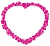 Rose frame Stock Images
