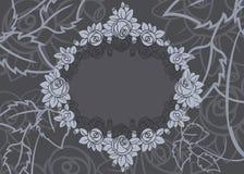 Rose frame background Royalty Free Stock Images