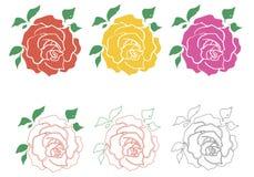 Rose 001 Royalty Free Stock Photos