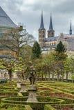 Rose Garden, Bamberga, Alemanha Imagens de Stock