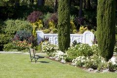 Rose garden stock photography