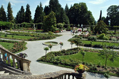 Rose garden on flower island Mainau Stock Photography