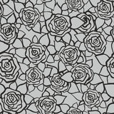 Rose garden. Midnight Rose Garden seamless pattern Royalty Free Stock Photos
