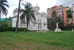 Rose Garden Palace é uma mansão e um jardim dhaka bangladesh imagem de stock royalty free
