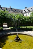 Rose garden of the residence in Bamberg, Germany Royalty Free Stock Photography