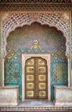 Rose gate door in Jaipur Royalty Free Stock Images