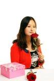 Rose Girl Stock Photos