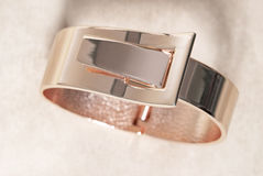 Rose Gold Bracelet Royalty Free Stock Photos