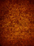 Rose Gold Brocade Leaf Textured-Achtergrond Royalty-vrije Stock Afbeelding