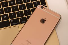 Rose Gold Iphone 6s Stock Images