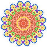 Rose gold sun petal flower shell Royalty Free Stock Image