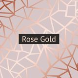 Rose gold. Vector decorative background with imitation of rose gold. For sales, printing and design of greeting cards, covers, banners royalty free illustration