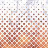 Rose Gold-vierkant op marmeren achtergrond, Rose Gold-textuur Het geometrische marmeren patroon van Rose Gold Het marmeren Behang vector illustratie