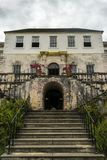 Rose Hall Great House in Montego Bay, Jama?ca Populaire toeristische attractie royalty-vrije stock foto's