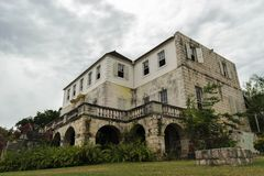 Rose Hall Great House in Montego Bay, Jama?ca Populaire toeristische attractie royalty-vrije stock afbeelding