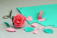 Rose  handmade Stock Images